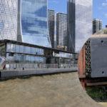 Canary Wharf with Neuthane polyurethane bumpers