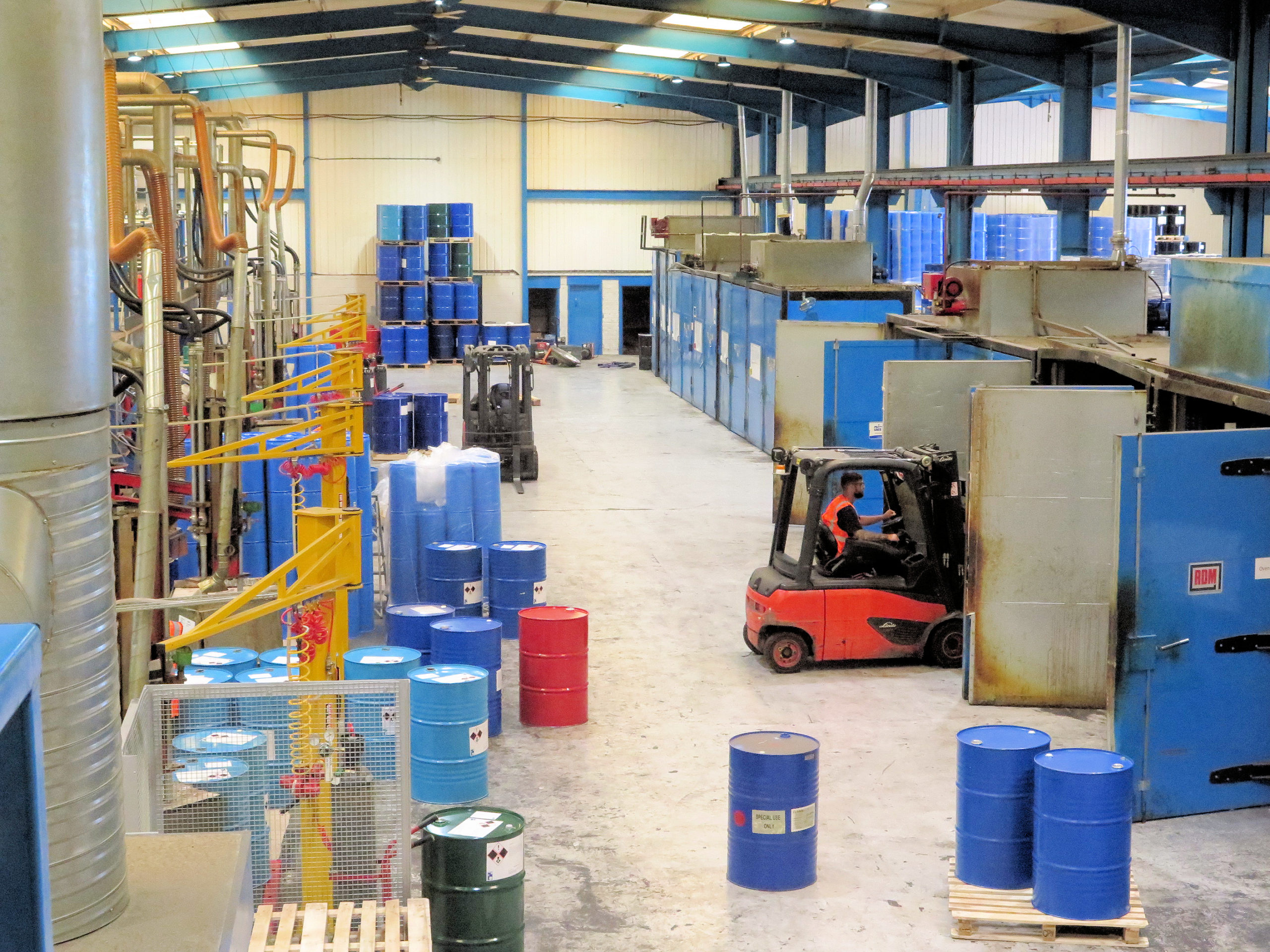 Notedome's Coventry facility