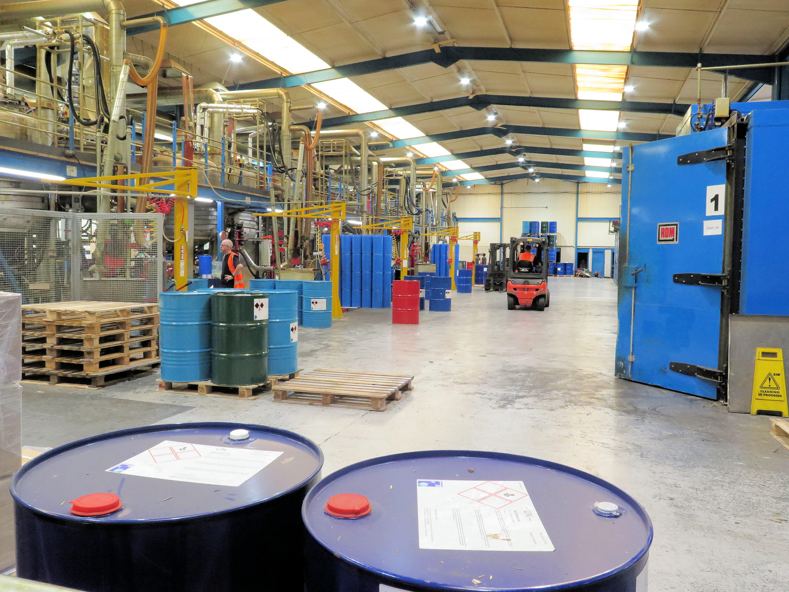 Notedome manufacturing facility