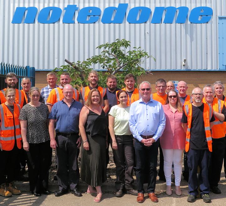 Notedome staff photograph 2021
